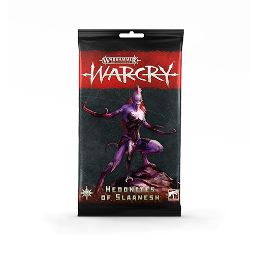 Warcry: Headonites of Slaanesh Card Pack