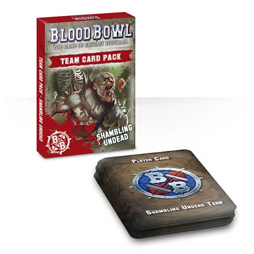 Blood Bowl: Shambling Undead Card Pack