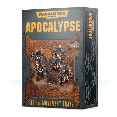 40mm Apocalypse Movement Trays