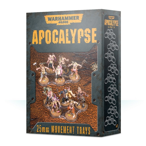 25mm Apocalypse Movement Trays