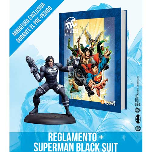 DC Universe Rulebook - Hero Cover