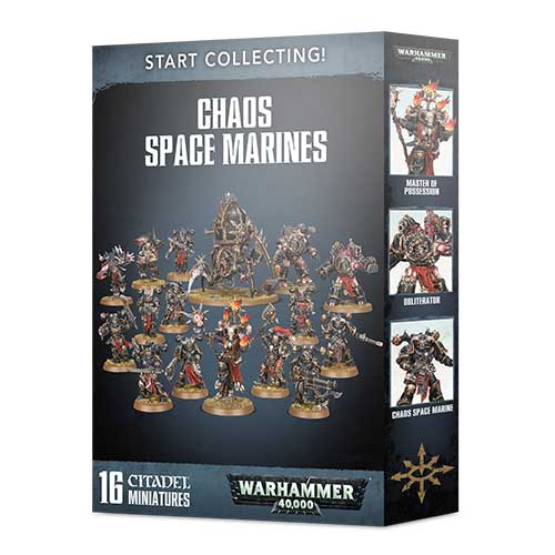 Pre-Order Start Collecting! Chaos Space Marines