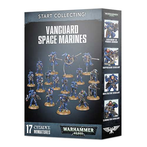 Pre-Order Start Collecting! Vanguard Space Marines