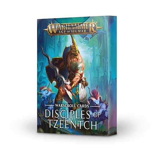Disciples of Tzeentch Warscroll Cards