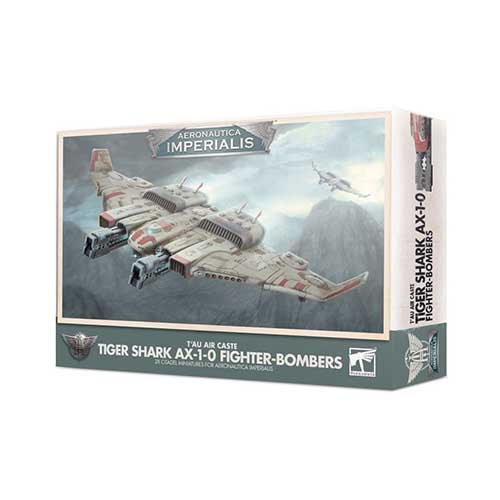 T'au Air Caste Tiger Shark AX-1-0 Fighter-Bomber