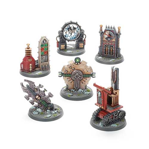 Battlezone Manufactorum Objectives