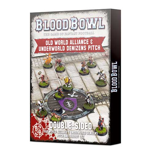 Pre-Order Old World & Underworld Pitch & Dugouts