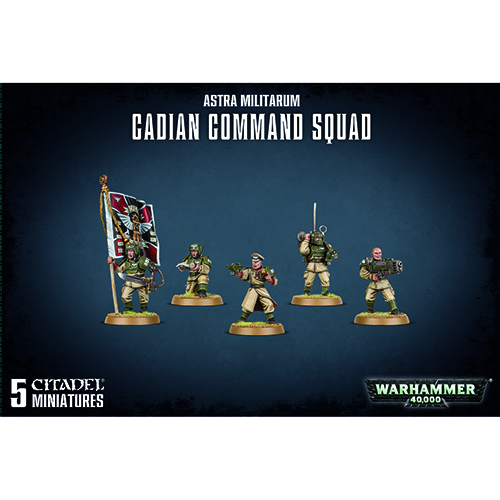 Astra Militarum Command Squad