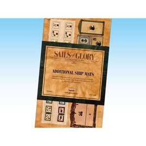 Sails Of Glory - Additional Ship Mats(Set of 4)