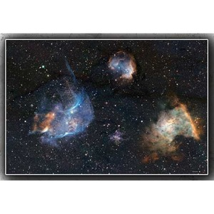 Gaming Mat: Space 6x4'