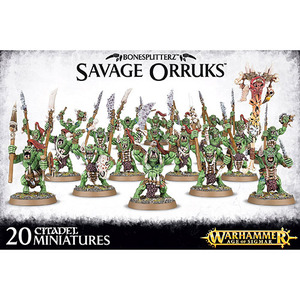 Savage Orruks/Morboys/Arrowboys