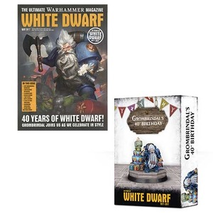 White Dwarf May 2017 & Grombrindal: 40 Years of White Dwarf